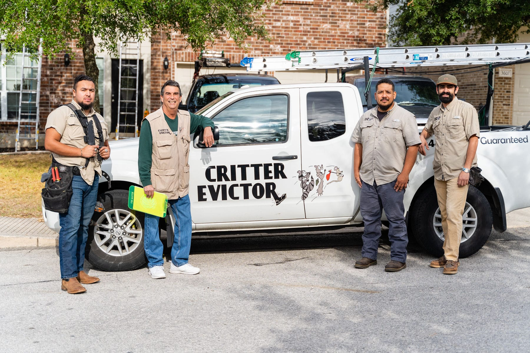 Critter Evictor Team
