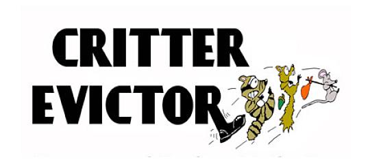Critter Evictor Logo
